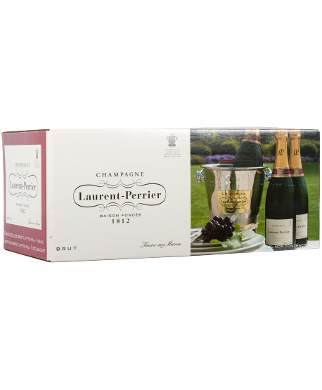 Laurent Perrier 6 Brut + Seau