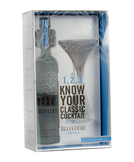 Belvedere Coffret Verre Cocktail
